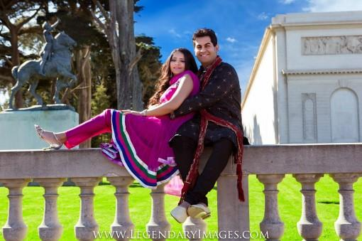 San Francisco Indian E-Session by Legendary Images