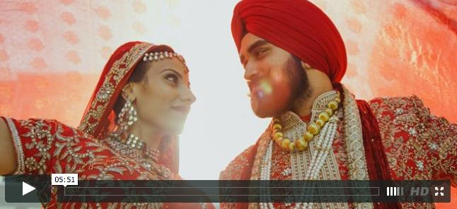 Italian Sikh Indian Wedding Video by East West