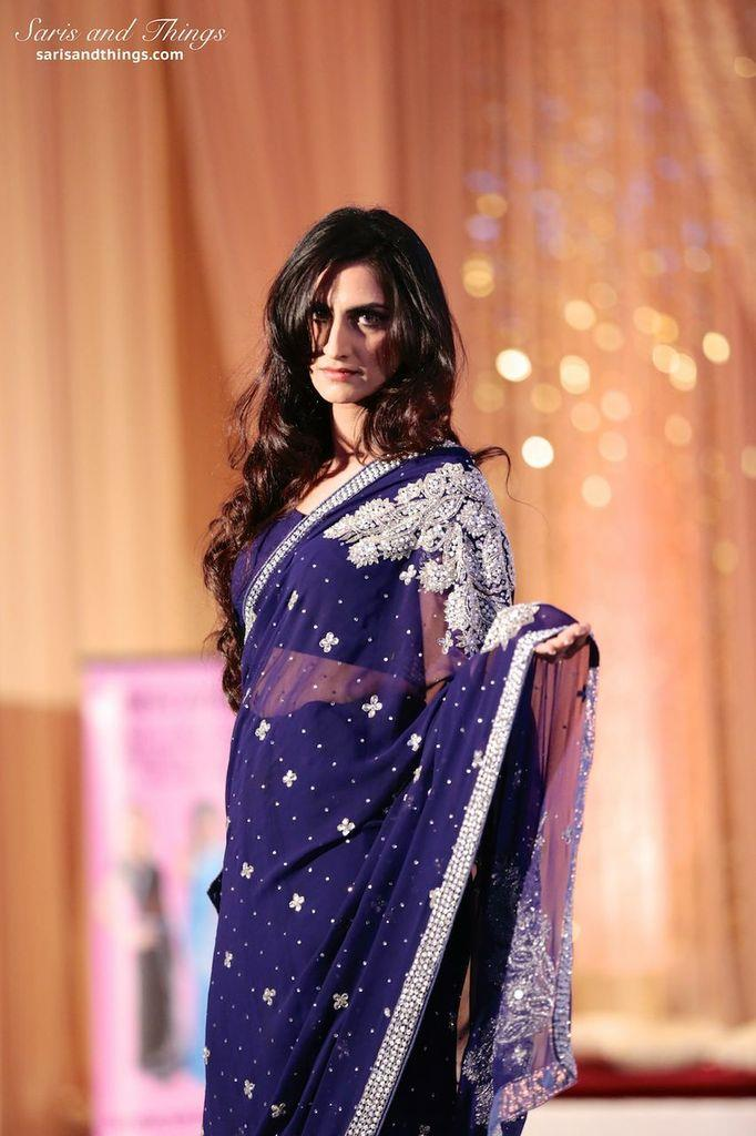 saris and things purple sari