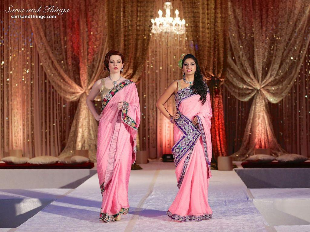 saris and things pink saris