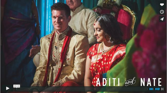 Outdoor Multicultural Indian Wedding Video by the McKellars
