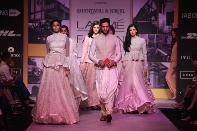 Shantanu & Nikhil at Lakmé Fashion Week Summer Resort 2014