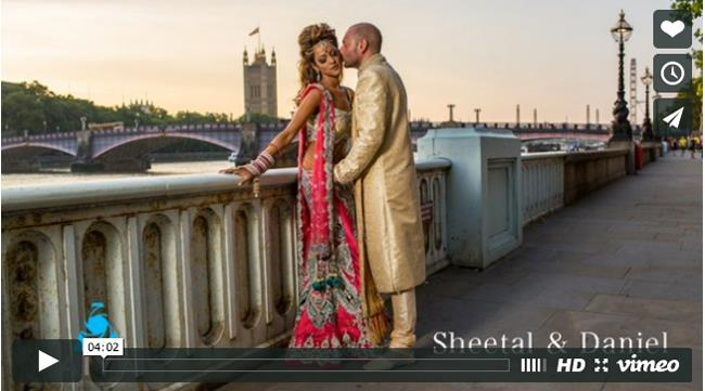 Fusion London Indian Wedding Video by Aiya Photo & Cinema