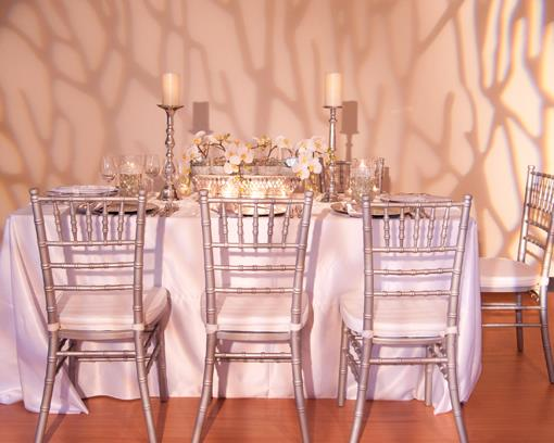 Silver and White Orchid Decor by Victoria