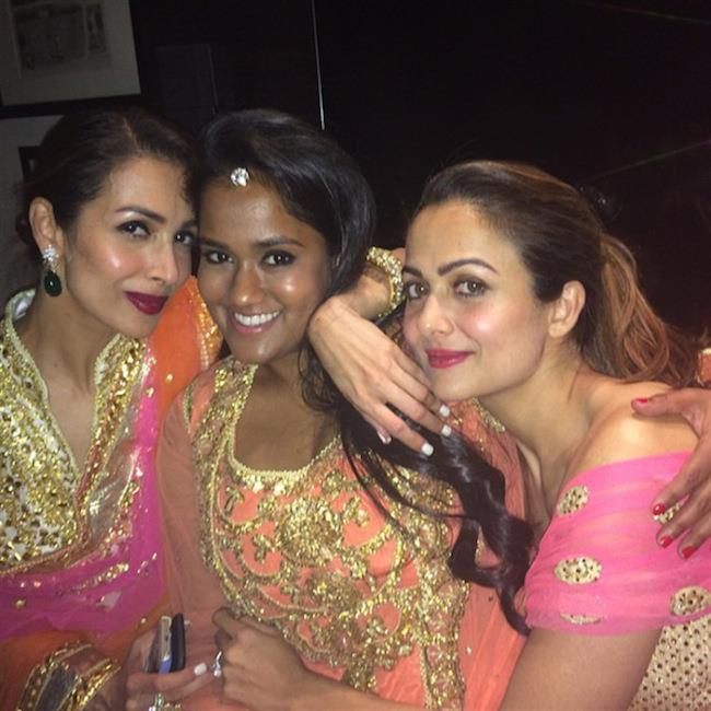 arpita-amrita-and-malaika-at-soha-ali-khans-wedding