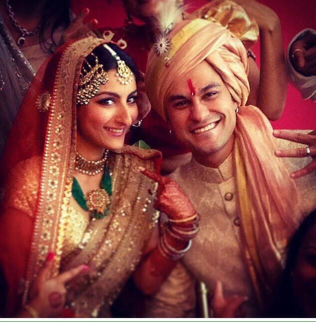 soha ali khan and kunal khemu wedding ceremony