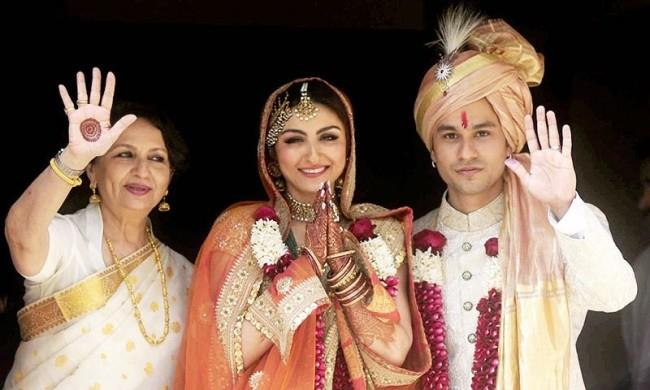 soha ali khan and kunal khemu wedding