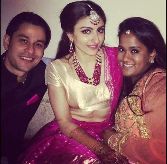 soha ali khan reception-kunal-arpita