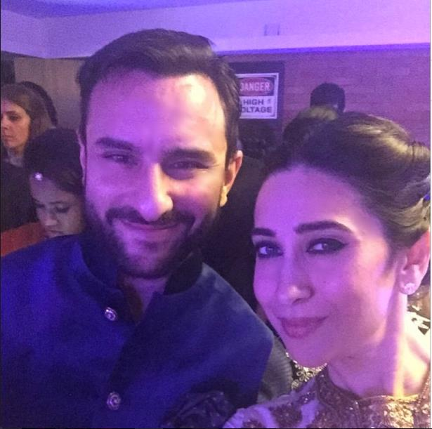 soha ali khan reception with karisma2