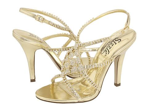 Sparkling Gold and Crystal Indian Shoes - Tuesday Shoesday