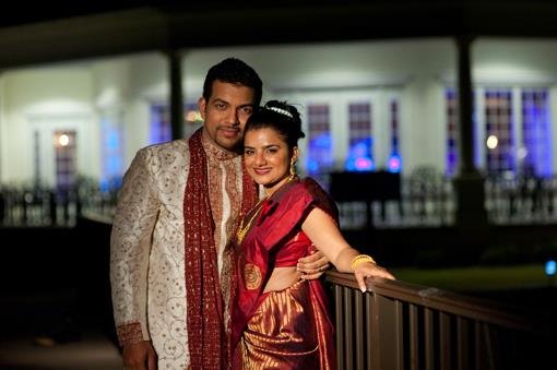 St. Augustine Florida Indian Wedding Reception