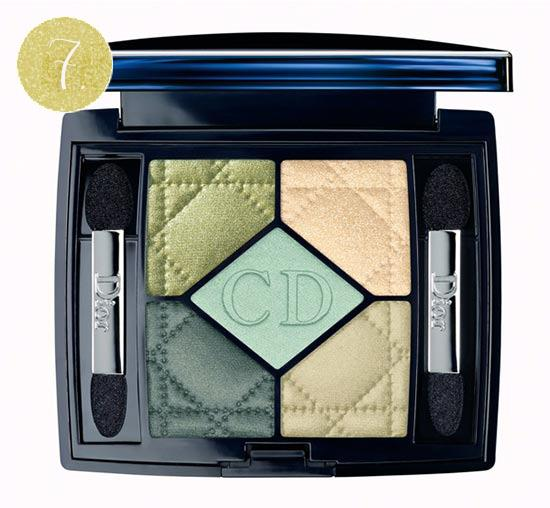 dior green eyeshadow palette