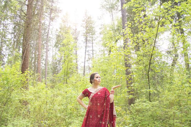 6a Outdoor Indian Bridal Sari