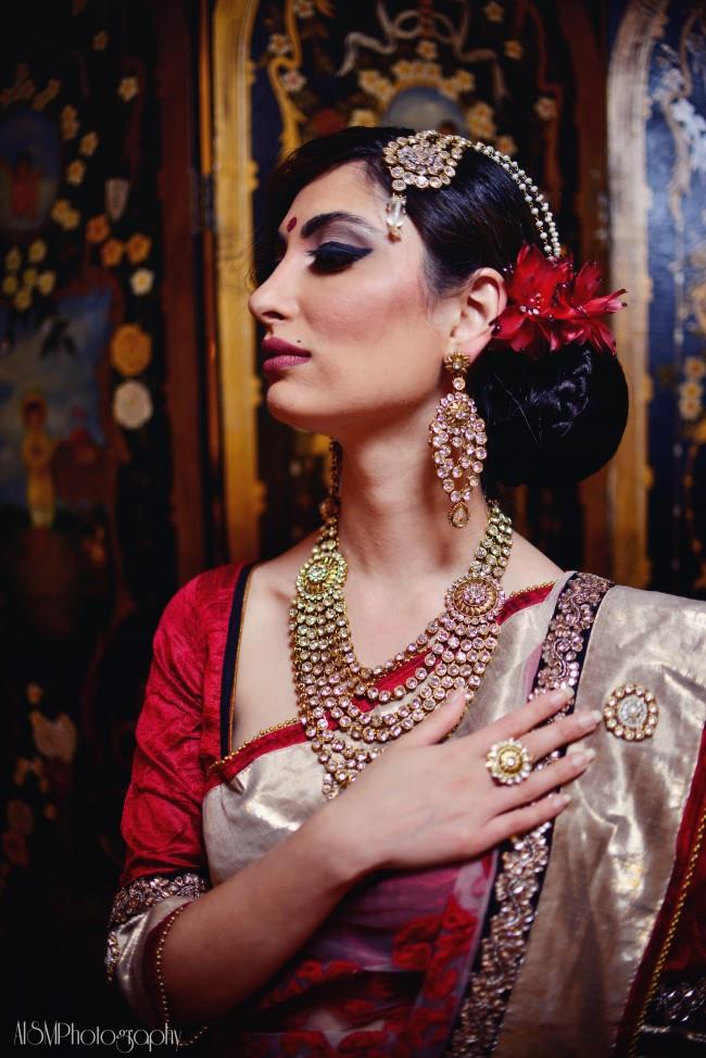 indian wedding bridal look