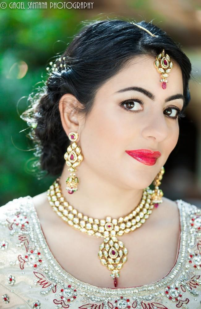 14indian wedding necklace long earrings matha patti