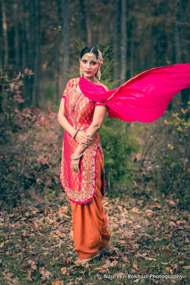retro styled indian wedding fashion shoot