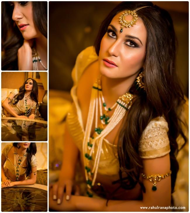 1a Indian Wedding Styled Shoot bride