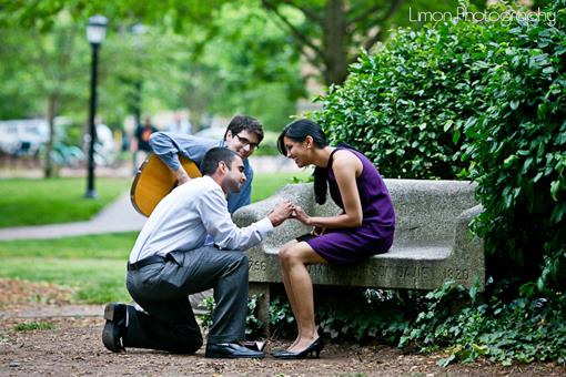 Surprise Indian Proposal Pictures by Limon Photography