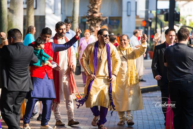 5a indian wedding baraat