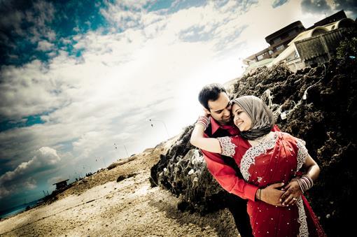 Tanzania Indian Wedding Beach Photos by AH Portrait Photography