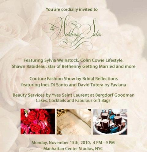 The Wedding Salon NYC - November 15th