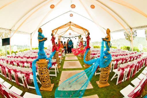 Traditional Outdoor Telugu Indian Wedding in Austin