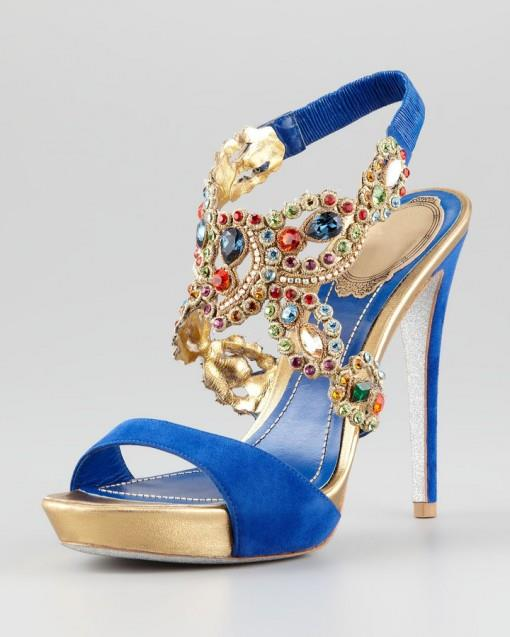 Bridal Shoes India: Tuesday Shoesday- Jeweled Indian Bridal Shoes