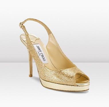 Tuesday Shoesday - Indian Wedding Shoes Glittering Gold