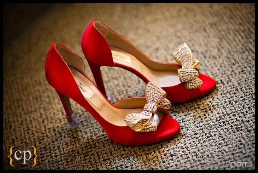 Tuesday Shoesday - Indian Wedding Shoes with Bows