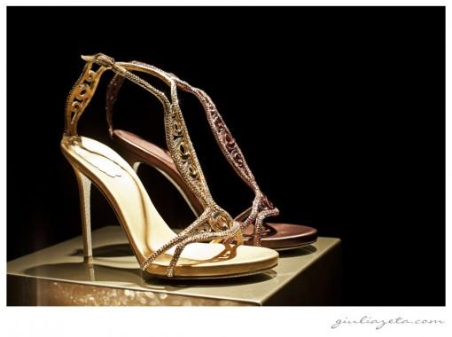 Tuesday Shoesday - René Caovilla Gold Ring Indian Wedding Shoes