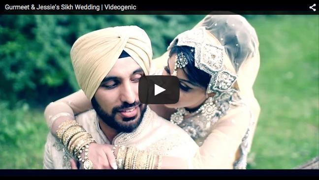 Canadian Sikh Wedding Same Day Edit by Videogenic Calgary
