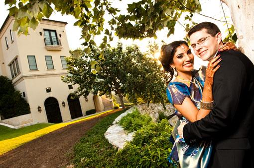 Villa Del Lago Indian Wedding Reception