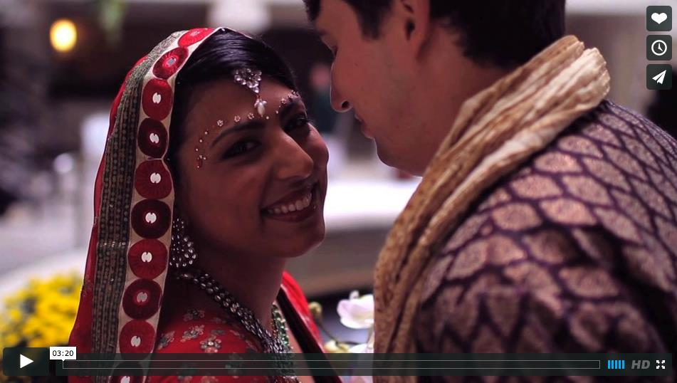 CineMonday: Beautiful Multicultural Indian Wedding Video by Sun & Sparrow