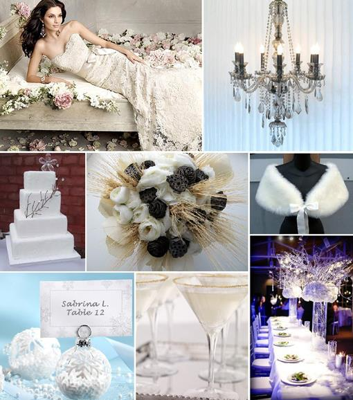 Winter Wonderland Indian Inspiration Board
