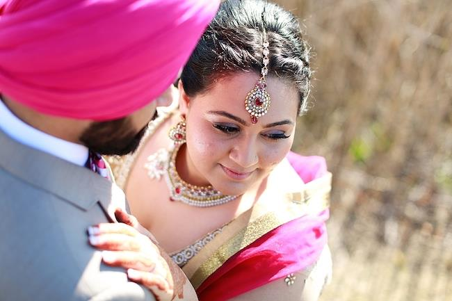 sikh engagement bride to be