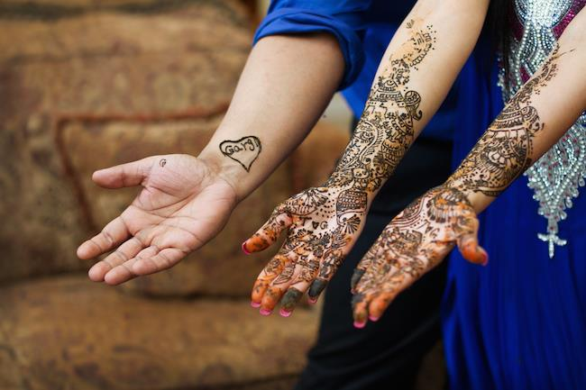 3bride and groom to be mehndi