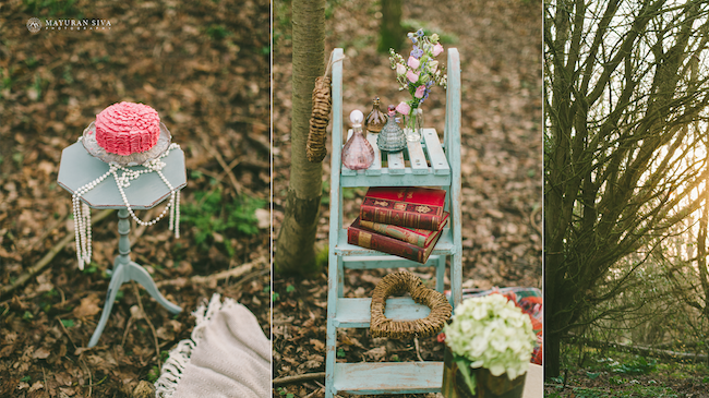 2aindian outdoor vintage engagement shoot props