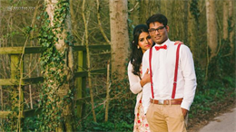 Picnic Vintage Indian Engagement Session by Mayuran Siva Photography