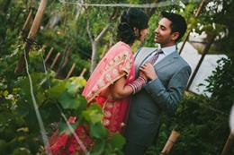 Malibu California Outdoor Indian Wedding by Ian Grant Photography