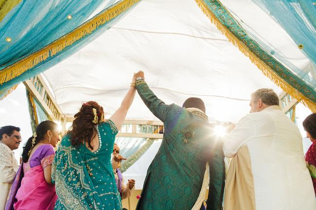 15a indian wedding outdoor ceremony