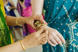 Cape Cod Themed Fusion Indian Wedding by Nicole Chan Photography