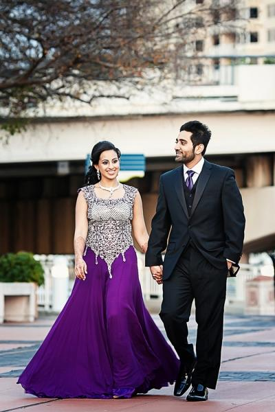 indian-wedding-bride-purple-gold-lengha