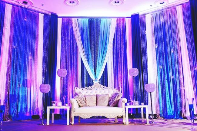 15 sikh indian wedding reception staging