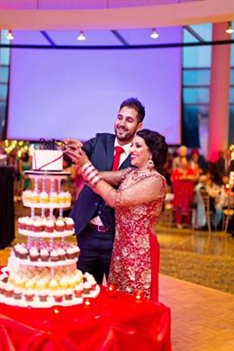 Beautiful Illinois Sikh Wedding by Almond Leaf Studios