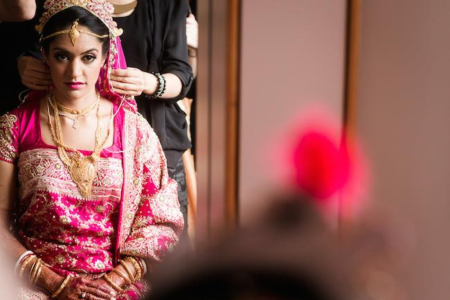 10a indian wedding bridal look