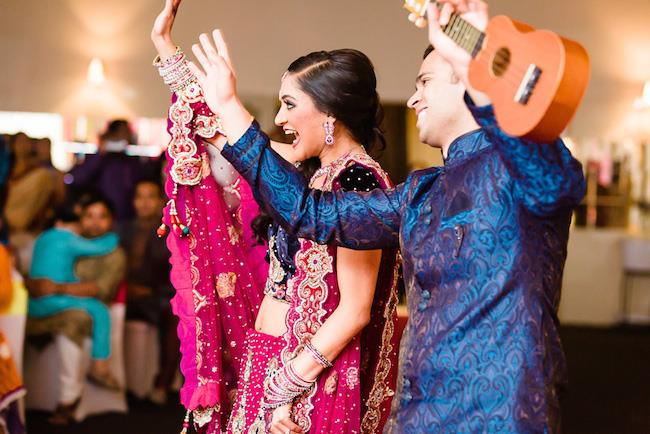 4a indian wedding sangeet