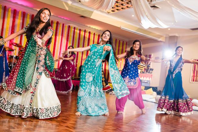 7a indian wedding sangeet dance