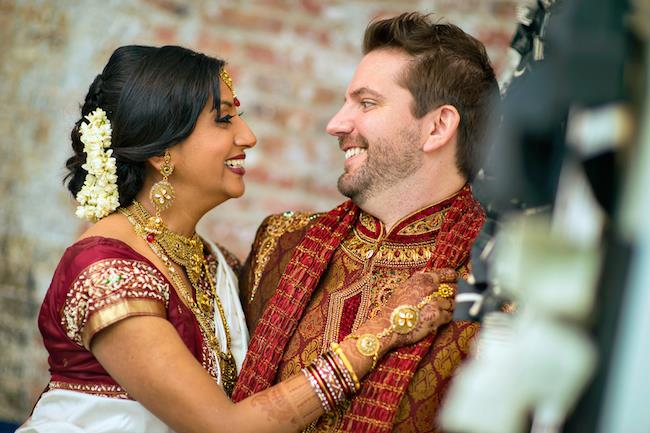 6a indian wedding portrait