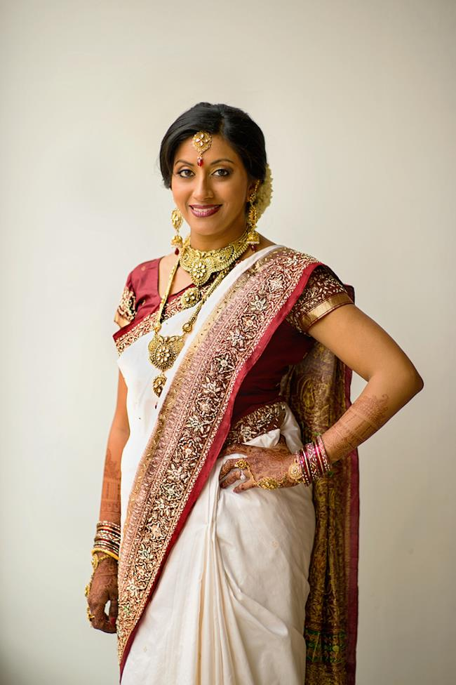 8a indian wedding bridal sari