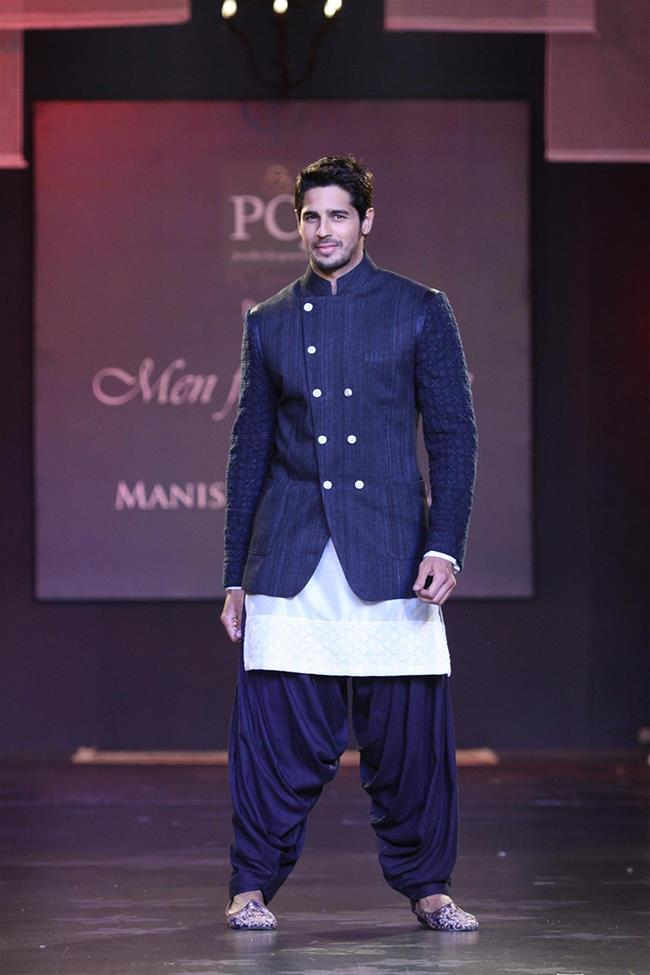 Manish Malhotra mens indian wedding punjabi style jacket kurta Sidharth Malhotra